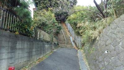 富士仙元への登城口