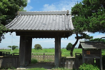 内藤氏陣屋の移築門