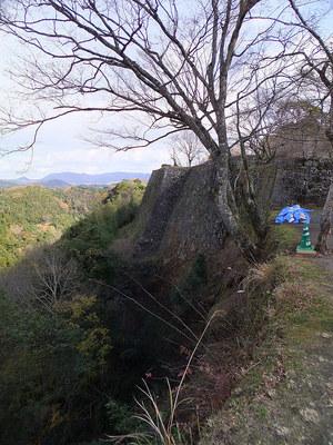 三の丸北側高石垣