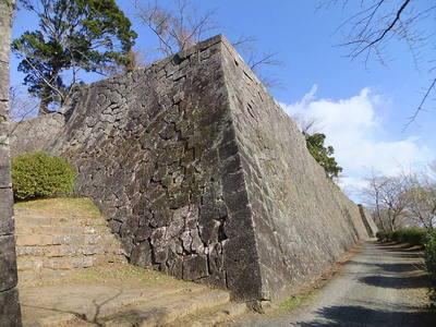 御三階櫓跡・本丸南側石垣
