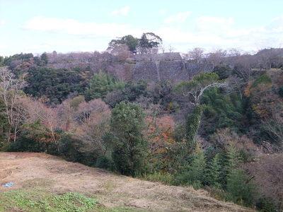 清水谷の先の東の曲輪