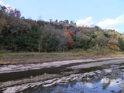 白滝川から岡城