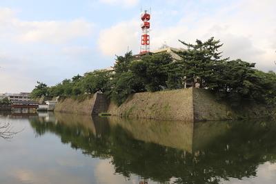 坤櫓跡石垣