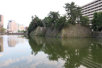 北東部の石垣
