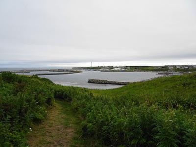 主郭から港を見た風景