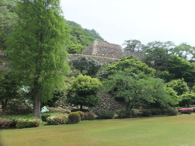 二ノ丸三階櫓跡(石垣)