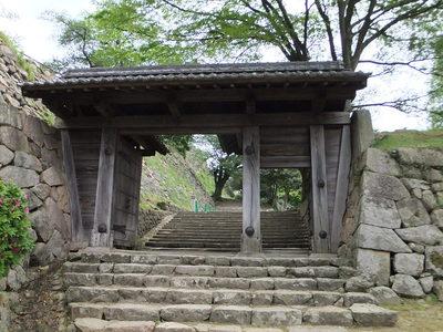 西坂下御門(中仕切門)