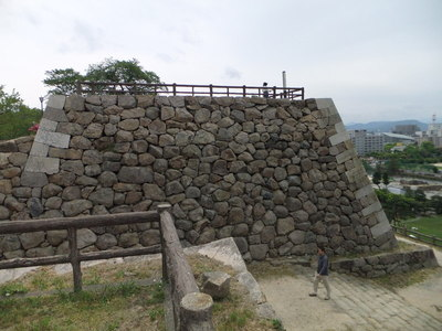 二ノ丸三階櫓台