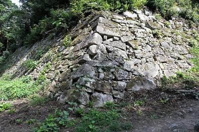 安土城⑥ 穴太積の石垣