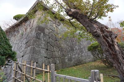 五稜郭⑤ 城内の石垣
