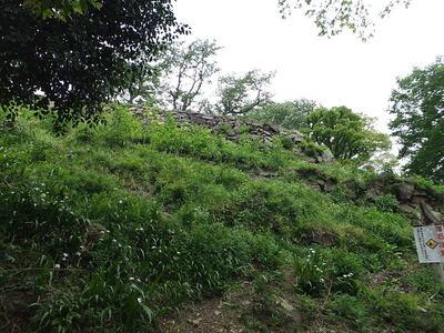 山上ノ丸石垣