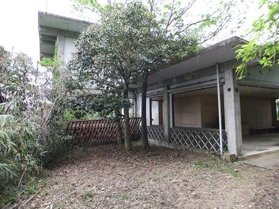 久松ロープウェイ駅舎跡