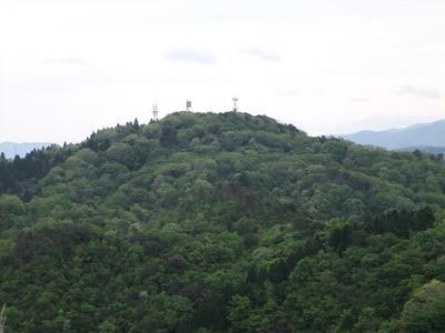 十神砦(外神砦)跡から太閤ヶ平