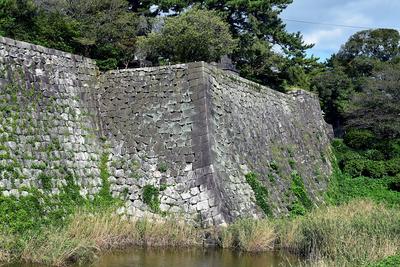 南側の高石垣