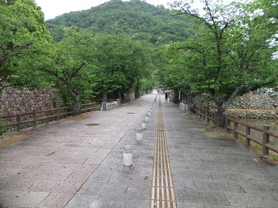 宝珠橋・北ノ御門跡