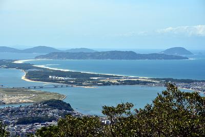 海の中道と志賀島