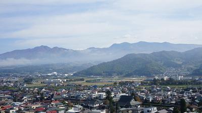 蔵王連峰(天守からの眺め)