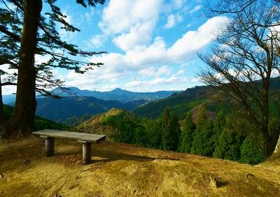 矢倉跡よりの眺望