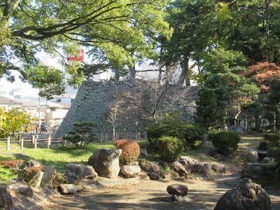 本丸の日本庭園