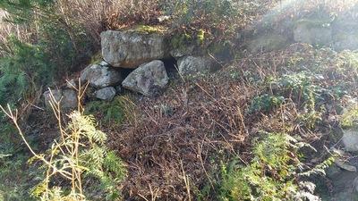 二郭下の石垣