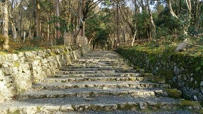 本堂へ向かう石段 1