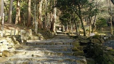 本堂へ向かう石段 2