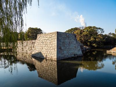 東北隅櫓台石垣