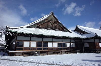 雪の二の丸御殿(大広間)