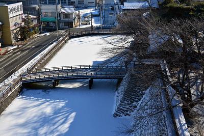 冠木橋 (天守展望台から)