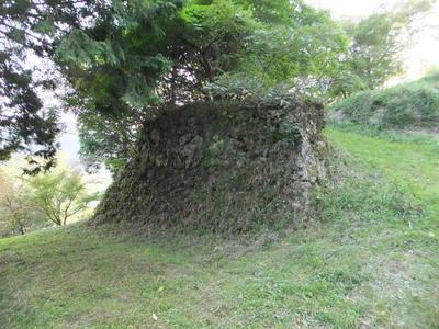 三方里山演武場(三方里山公園)の石垣