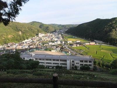 三方里山演武場(三方里山公園)からの眺め