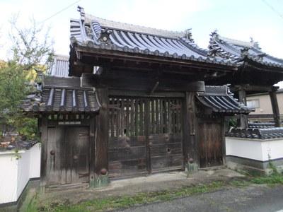表門(西法寺山門)