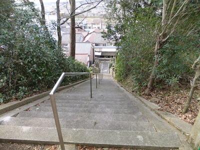 稲荷神社の参道