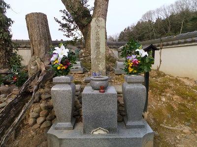竹中半兵衛の墓