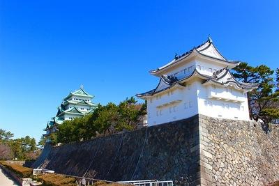 名古屋城 天守閣と西南櫓
