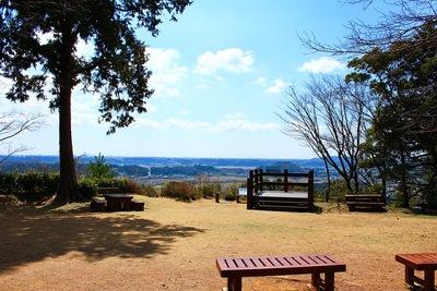 井伊谷城 本丸の展望台