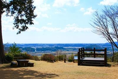 井伊谷城 本丸の展望台2