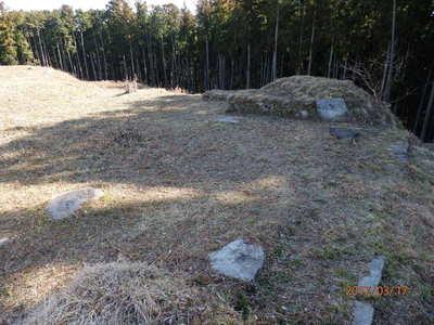 大門跡礎石