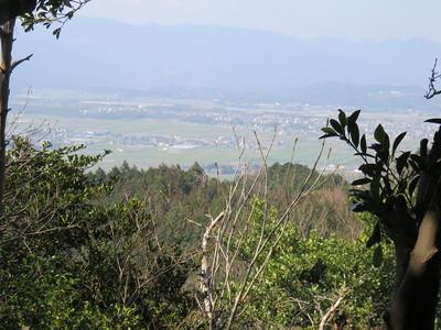高祖山より