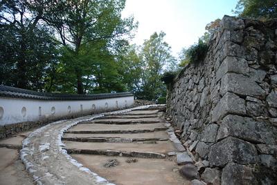 三の平櫓東土塀