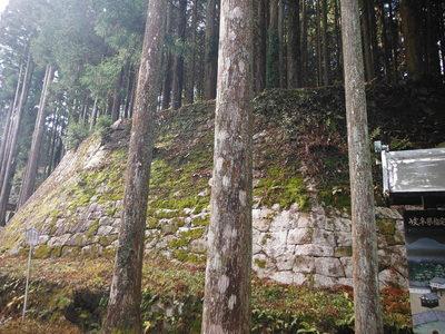 二の丸菱櫓石垣