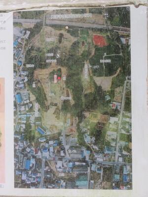 興国寺城跡周辺空中写真