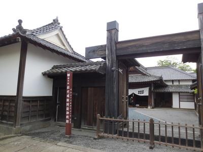 真田邸の門