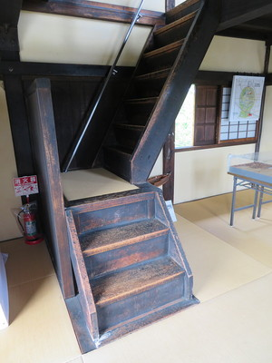 本丸櫓(階段)