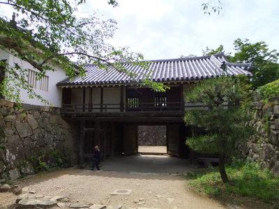 太鼓門櫓(本丸側)
