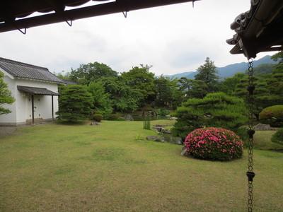 真田邸の庭園
