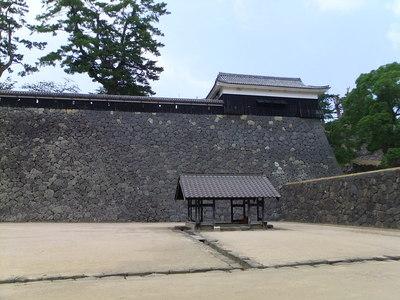 太鼓櫓・二の丸上の段石垣