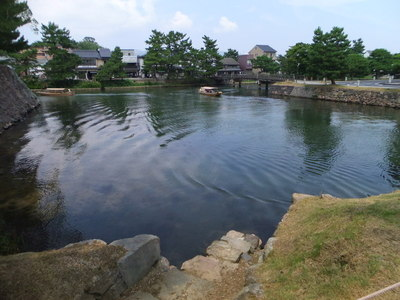 内堀(北惣門付近)