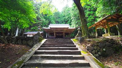 登城口のある稲荷神社