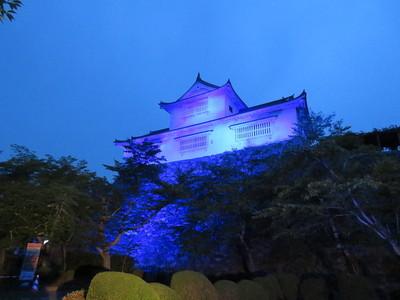 青い備中櫓